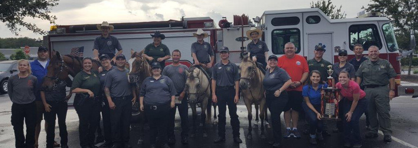 Pasco's Police, Firemen and Mounted Police Unit